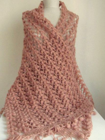 356 best images about Crochet: Wraps, Scarves, Shawls, Hats on Pinterest Cr...