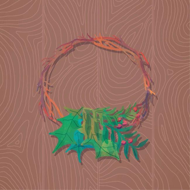 نمط التصميم الجرافيكي للجدران Christmas Poster Christmas Background