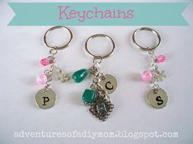 Adventures of a DIY Mom: How to Make Your Own Keychains