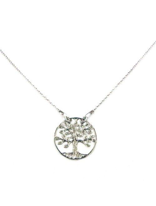 Iubeste simbolurile? Colierul din argint Tree of Life ii va veni perfect la gat!