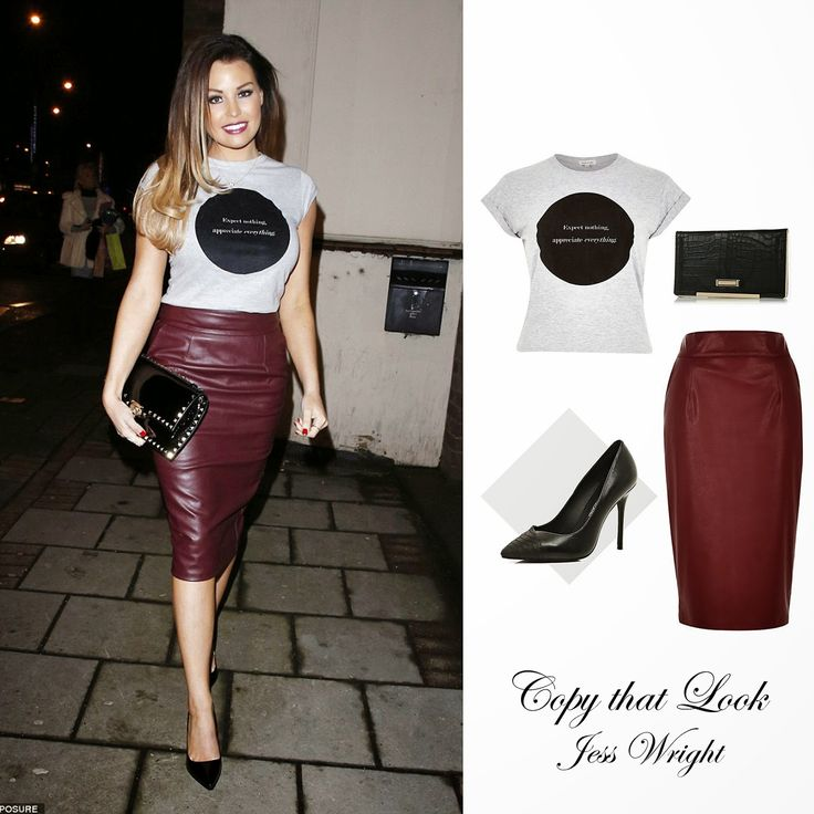 A Touch of Tartan: Copy that Look: Jess Wright
