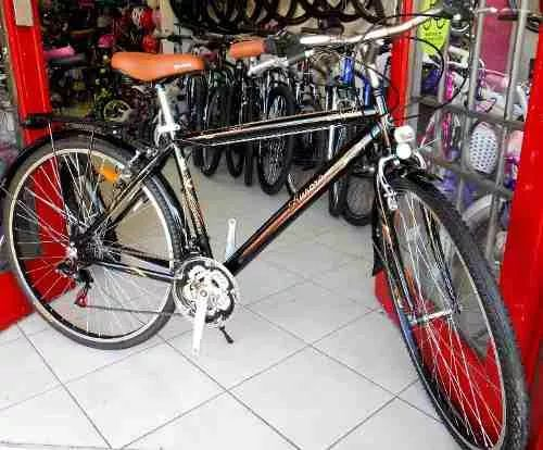bicicleta aurora rod 28 paseo spillo aluminio 2016!!