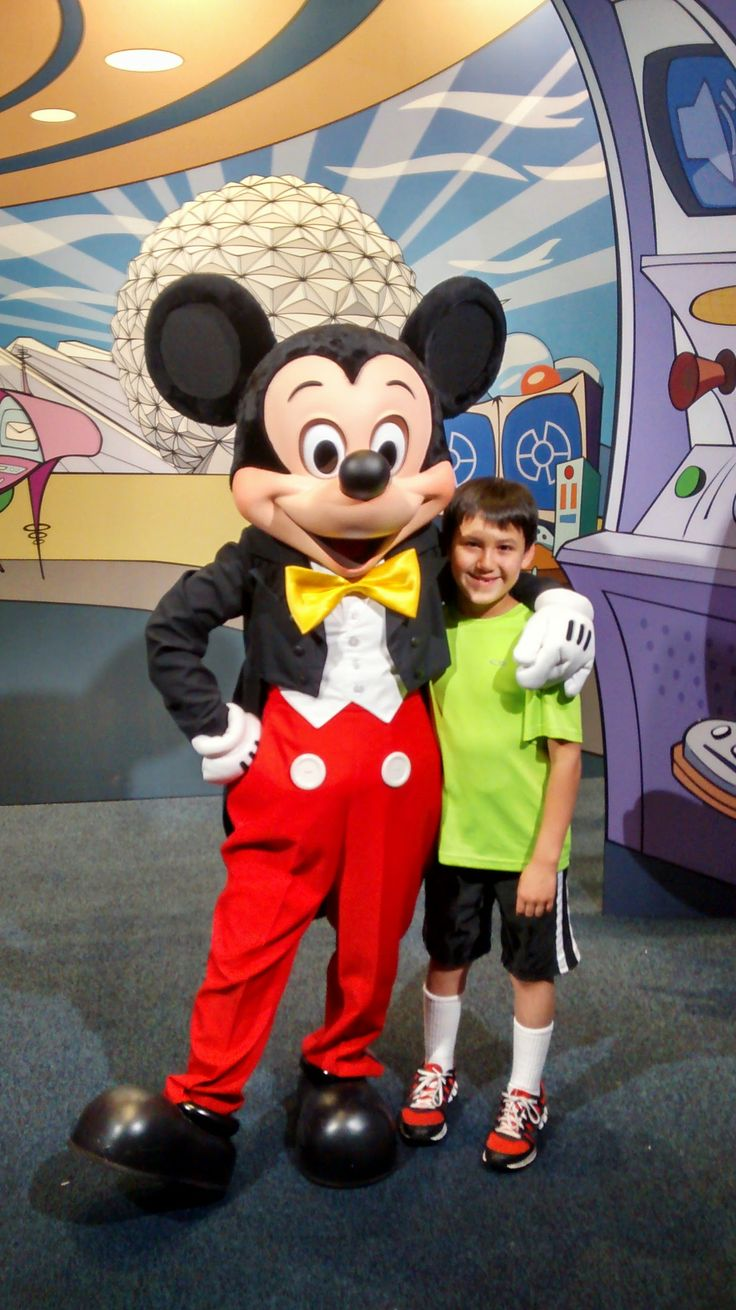 9 was the best age to take my son to Disney and the late March weather was awesome.