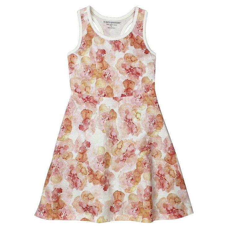 Girls 4-6x Burt's Bees Baby Organic Skater Dress, Girl's, Size: 6X, Med Pink