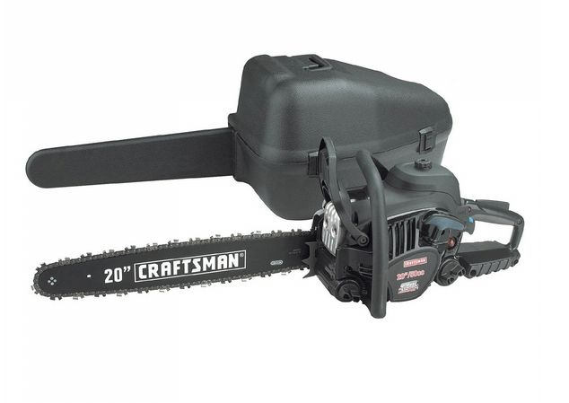 "Craftsman 50cc 2-Cycle 20"" Gas Chainsaw $170 Was $279 - http://supersavingsman.com/craftsman-50cc-2-cycle-20-gas-chainsaw-179-279/"