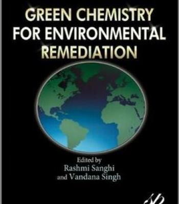 Green Chemistry For Environmental Remediation PDF