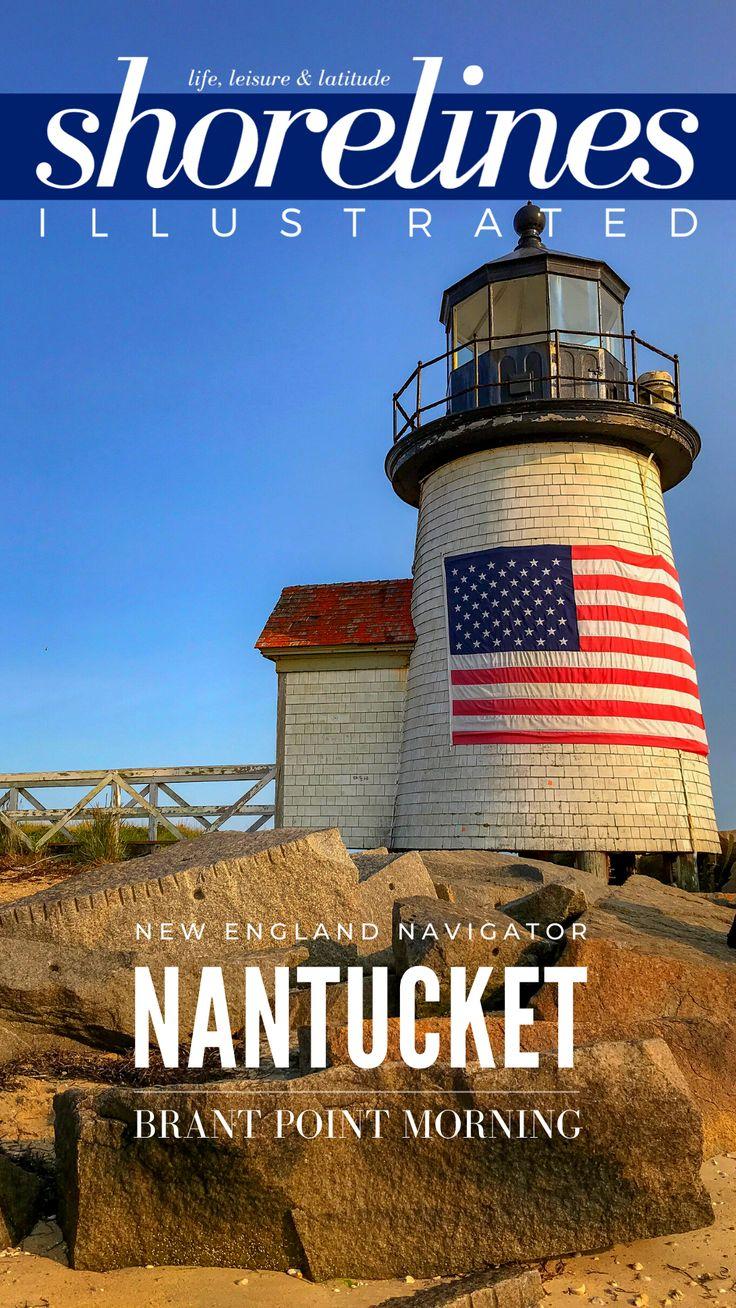 Brant Point Nantucket Sunday Morning Stroll Shorelines
