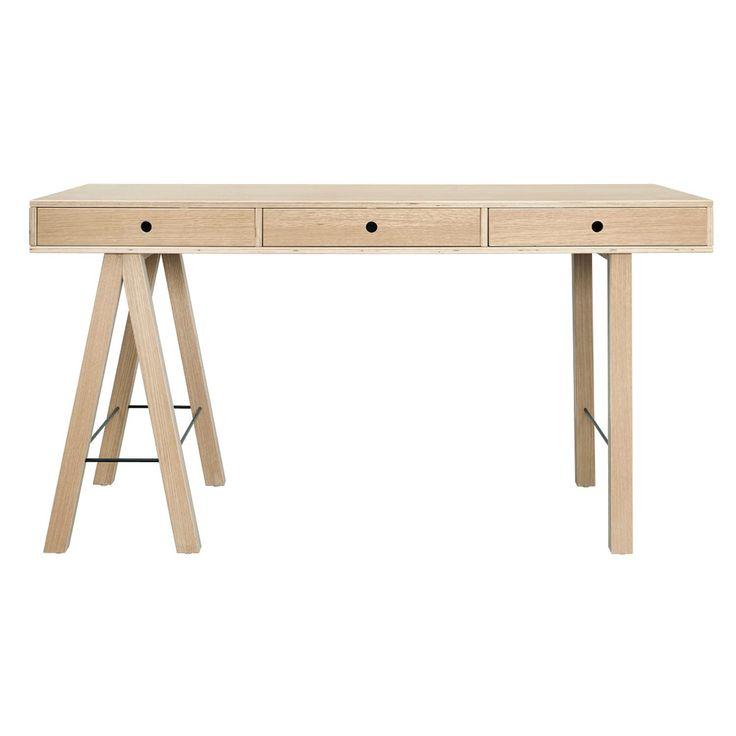 Mix Skrivebord, egetræ i gruppen Møbler / Bord / Skrivebord hos ROOM21.dk (129124)