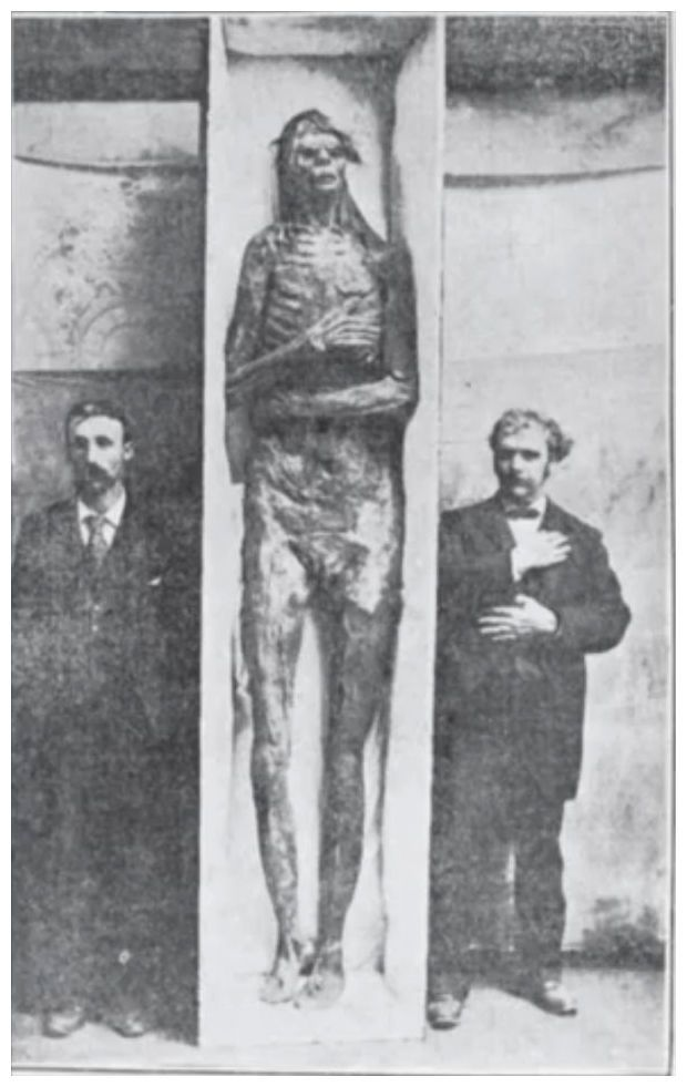 A giant mystery: 18 strange giant skeletons found in Wisconsin: Sons of god; Men of renown -- Secret History -- Sott.net