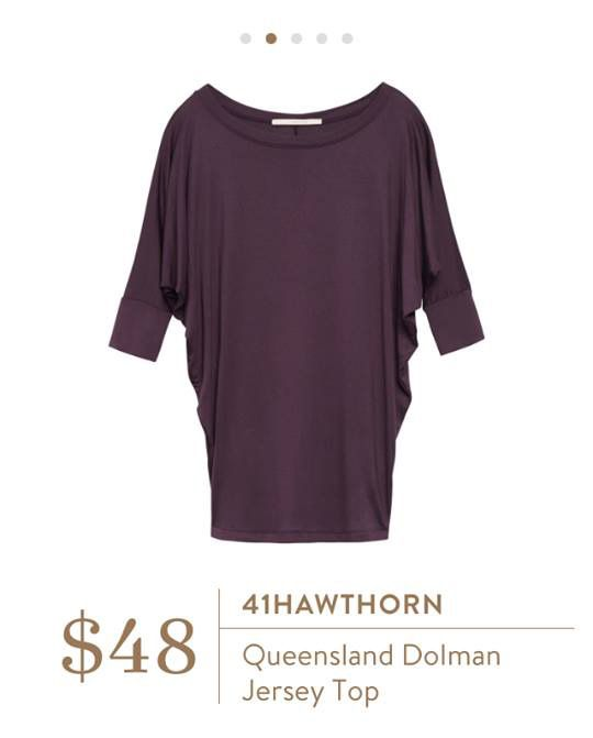 41Hawthorn Queensland Dolman Jersey Top - would love this in eggplant or teal or a cobalt blue. I already have it in black.