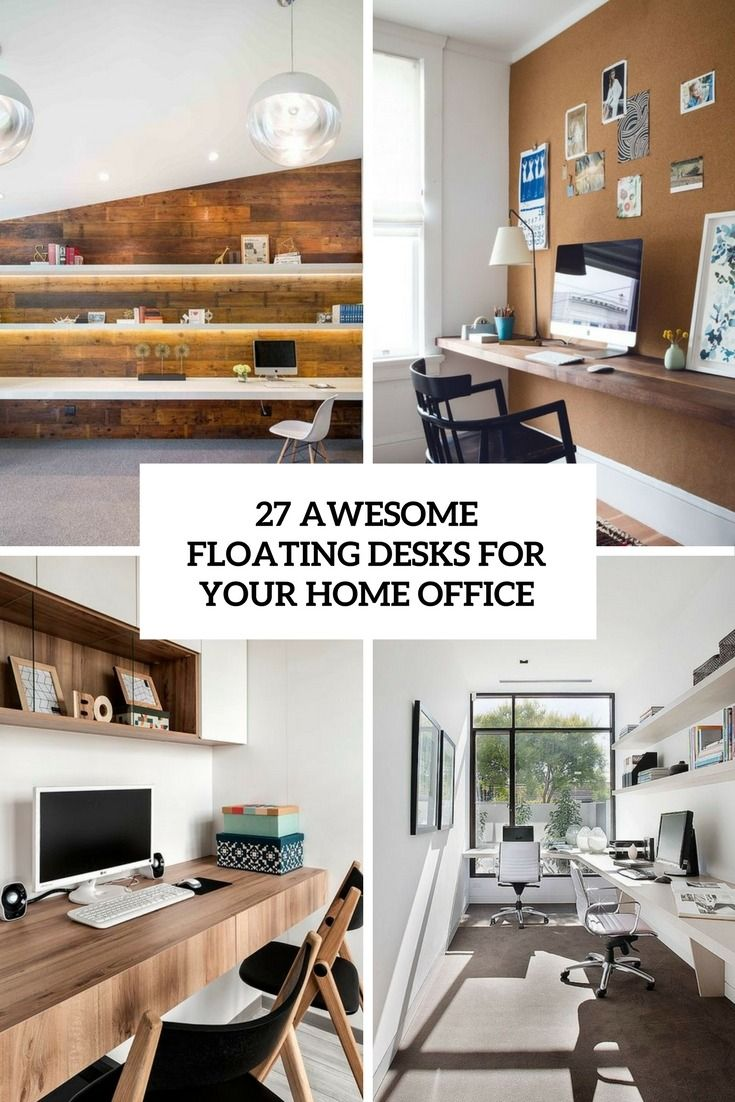 27 Awesome Floating Desks For Your Home Office https://www.digsdigs.com/floating-desks-for-home-office/ | WordPress Website Maintenance