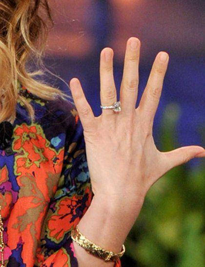 Os melhores anéis de noivado de celebridades e diamantes - de Jennifer Aniston para Kate Moss e Kate Middleton | ELLE UK