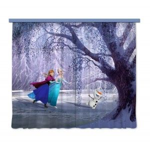 Jégvarázs, Frozen gyerek függöny XXL #függöny #lakástextil #lakberendezés #gyerekszoba #jégvarázs #elsa #frozen #anna
