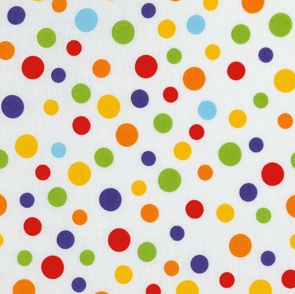 rjr primary color polka dot red blue green yellow orange