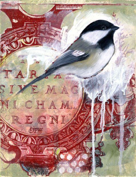 bird: Birds Prints, Birds Art Illustrations, Birds Artillustr, Art Inspiration, Art Journals, Mixed Media, Health Tips, Collage Inspiration, Healthy Food