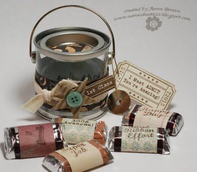 Tiny Paint Can by Aaron Brown - would make a great Pastor Appreciation gift. =)