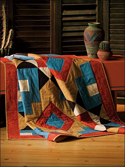 Quilting - Wall Quilts - Southwest Stars Free Wall Quilt Pattern