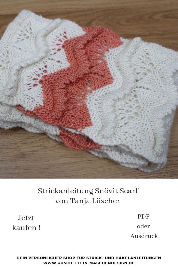 Strickanleitung Snövit Scarf von Tanja Lüscher