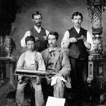 "Russiaville - staff of the ""Russiaville Standard"" newspaper"