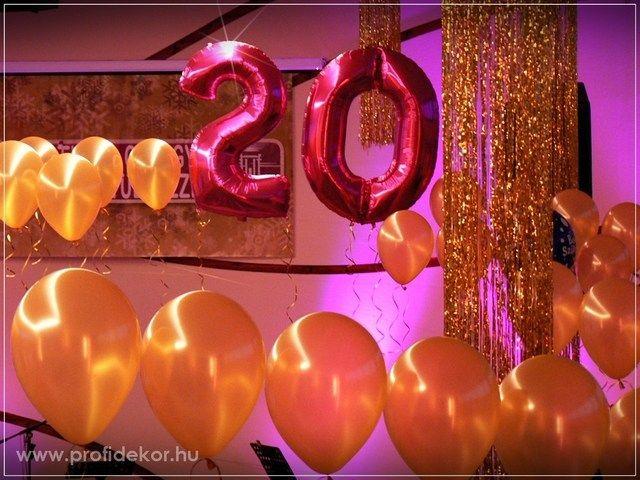 Szilveszter és 20. születésnap