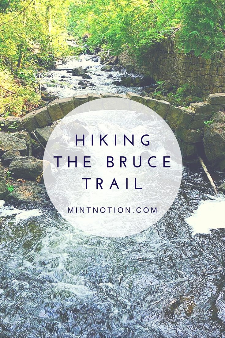 Hiking the Bruce Trail in Ontario: Limehouse, Devil's Pulpit and Rattlesnake Point. This is the oldest and longest marked trail in Canada.