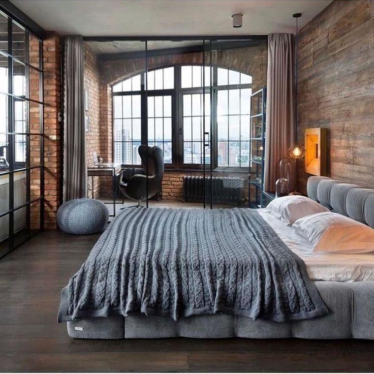 Home Decorating Ideas Cozy Loft Style Bedroom Wohnen Wohnung