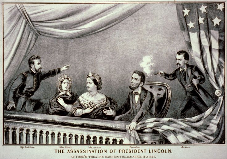April 14, 1865: President Abraham Lincoln is shot by John Wilkes Booth. He would be pronounced dead the following day, at 7:22 am.