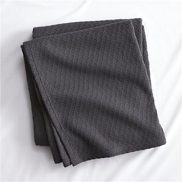 hive graphite blanket - three of these for the three swing pods