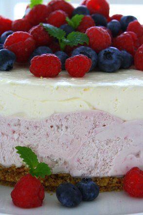 Extra fluffig sommarcheesecake | Jennys Matblogg | Damernas Värld