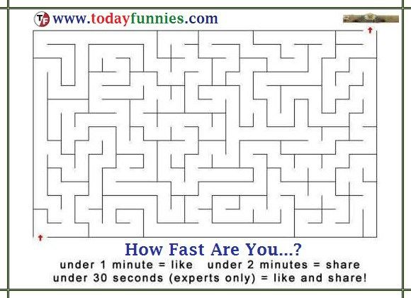 How Fast Are You To Solve The Puzzle