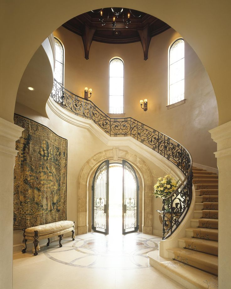Grand Foyer Staircase: 17 Best Images About Marble Staircases Classic Design