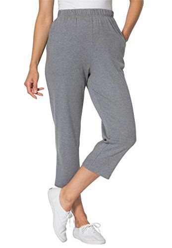 Special Offer: $18.58 amazon.com Our famous 7 day capris offer comfort, ease every day of the week. You will not find a better pair of plus size capris. wide, airy silhouette supports total freedom of movement 21″ inseam comfortable fit sits at waist full elastic waistband is never...