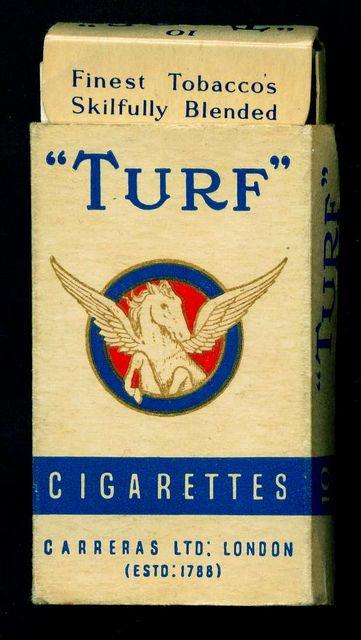 Cigarette Packet - Carreras, Turf by cigcardpix, via Flickr