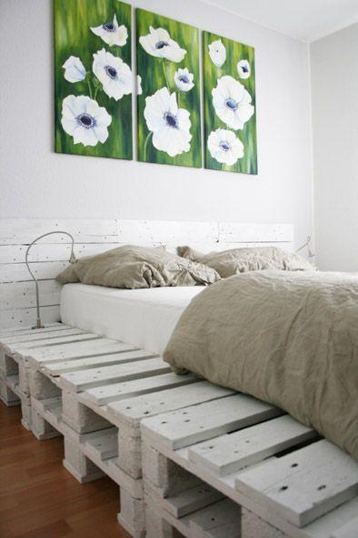 furniture made out of pallets | reader's improv: dig this fab d-i-y pallet bed