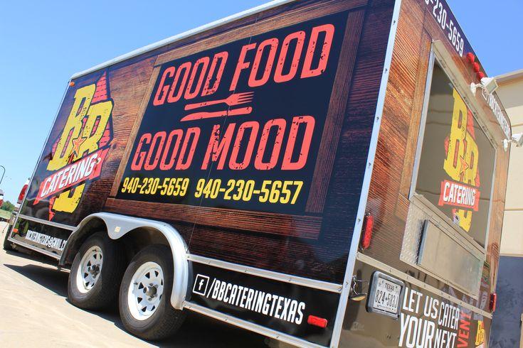 Bbq food truck ideas bbq trailer design catering trailer