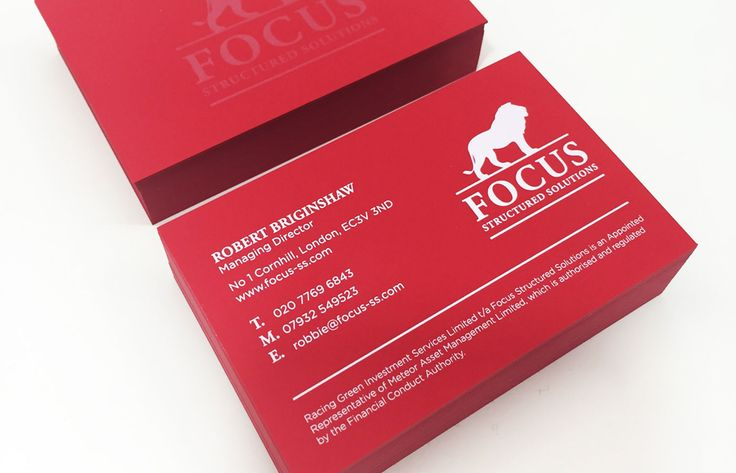 Business card with luxury UV white offset print and diamond varnish. Designed by Theme.