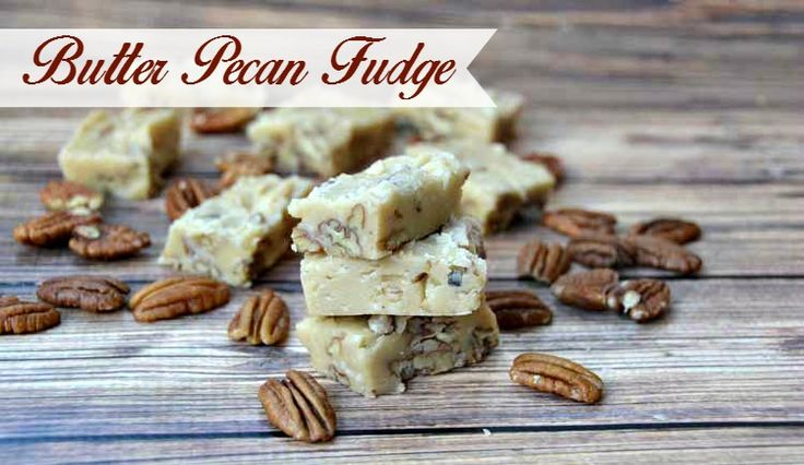 Rich and delicious, this Butter Pecan Fudge Recipe uses basic ingredients to make a rich fudge in under 30 minutes!