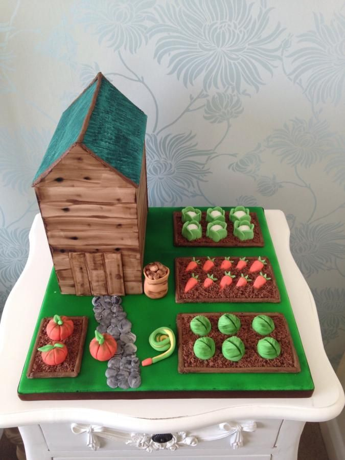 25+ best ideas about Allotment Cake on Pinterest ...