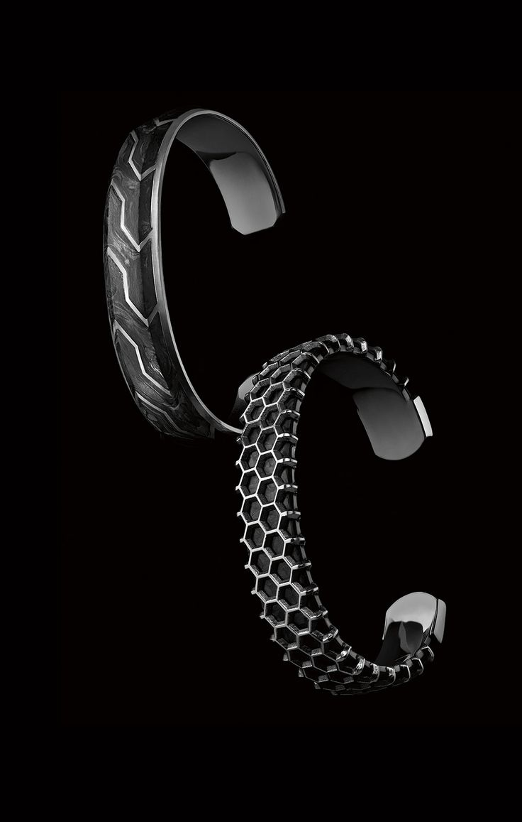 Forged Carbon cuffs for men.