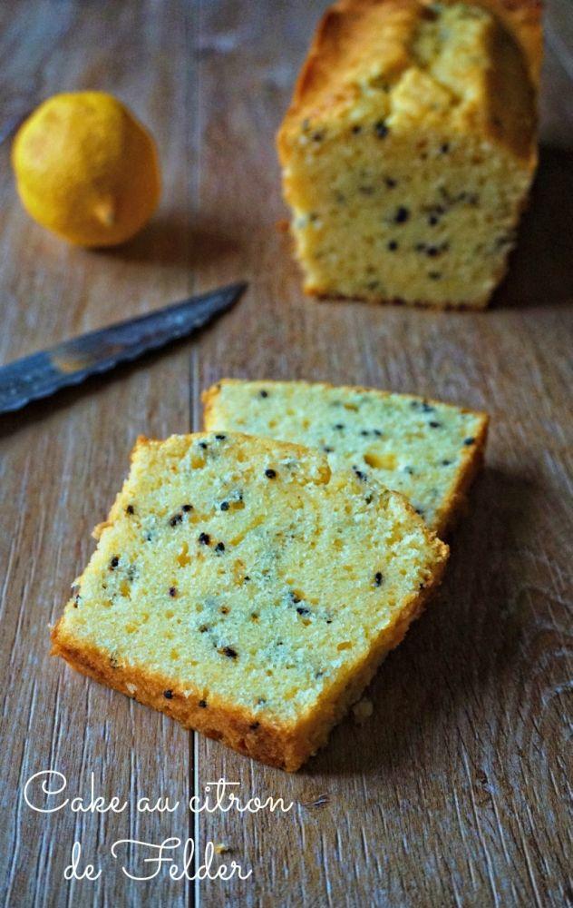 Vous cherchez un bon cake pour le citron? Voici le cake au citron de Felder, un cake hyper moelleux au goût d'enfance , miam!