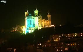 la ville de lyon illuminée - Recherche Google