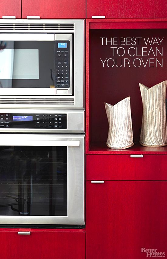 The Best Way To Clean Your Oven Sodas Salts And Sprays