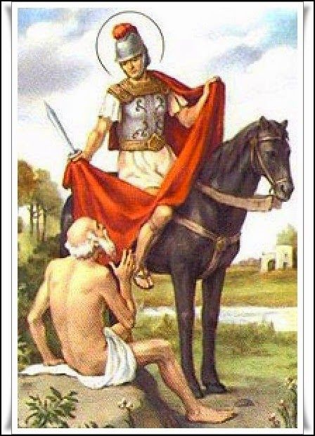Las Revelaciones del Tarot: San Martin de Tours (San Martin Caballero)