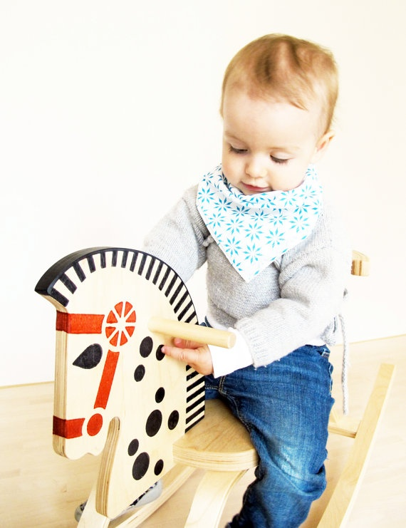 doudou 001, petrol, hanky for babys & toddlers