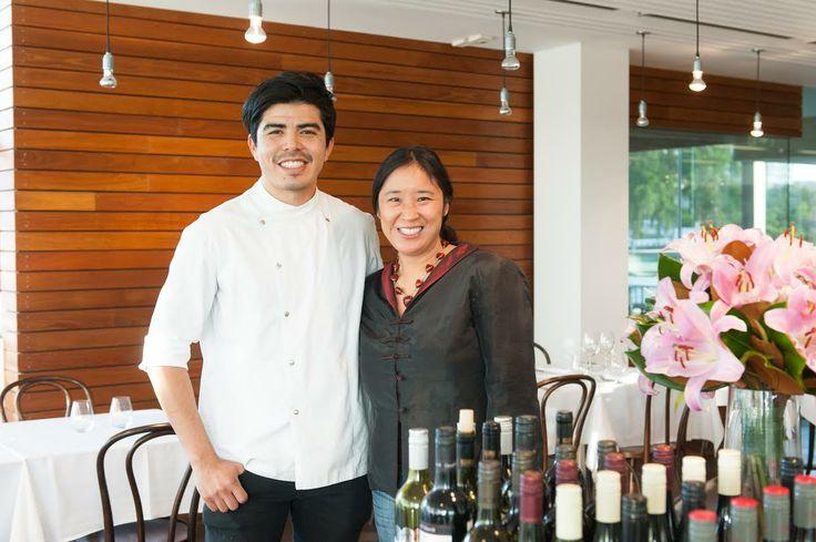Josue Lopez and May King Tsang - @QAGOMA - Tea and Dessert Pairing 07.05.2014 #TeaNoteSpeaking