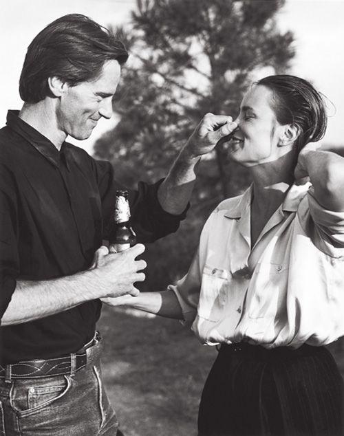 Bruce Weber—Sam Shepard and Jessica Lange, 1984 . <3