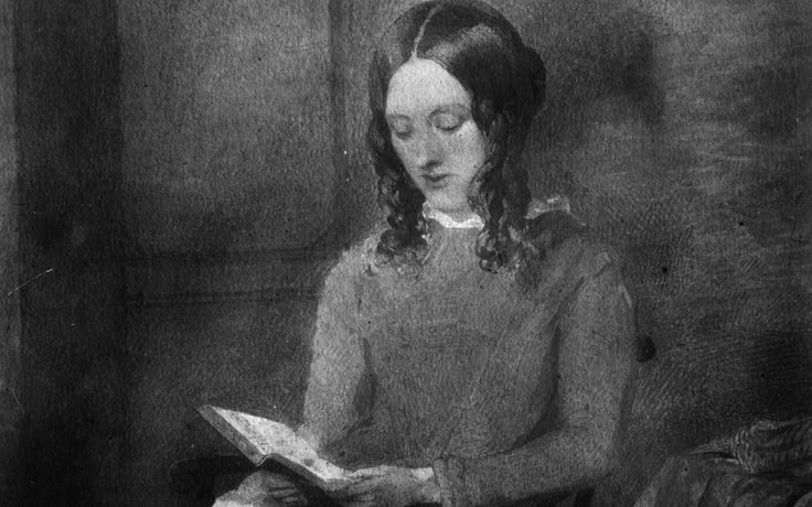 Charlotte Bronte in a water colour by Paul Heger.