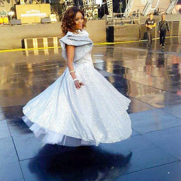 #sexysunday: #flawless @thembiseete served @nn_vintage gracefully @vodacomdurbanjuly