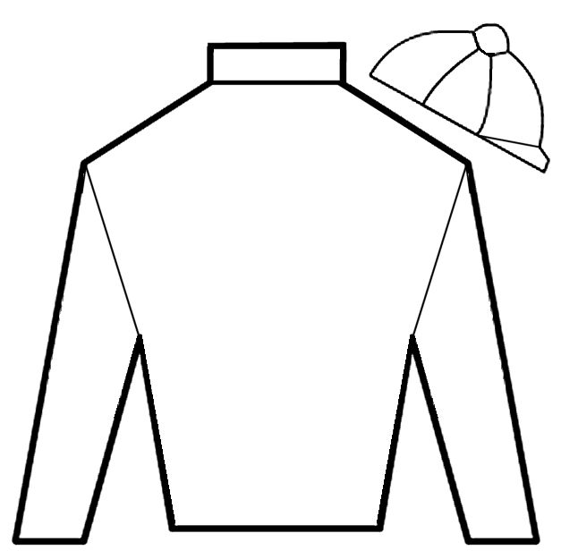 derby jockey silks coloring page.  Have guests design their own silks.