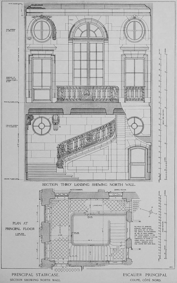 Stairs drawing related keywords amp suggestions stairs drawing - Section Of The Principal Staircase Inside The Petit Trianon Versailles Imagine The Beautiful Dresses We Could Wear Going Down The Stairs Heavy Sigh